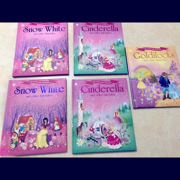 Disney hardcover fairy tale books